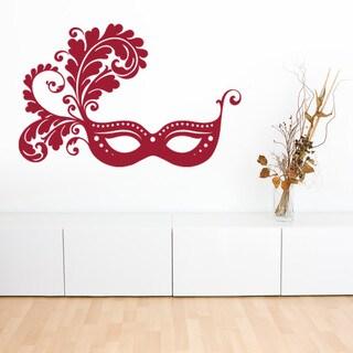 Venetian Mask Vinyl Sticker Wall Decor