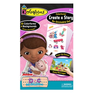 Doc McStuffins Colorforms Create A Story