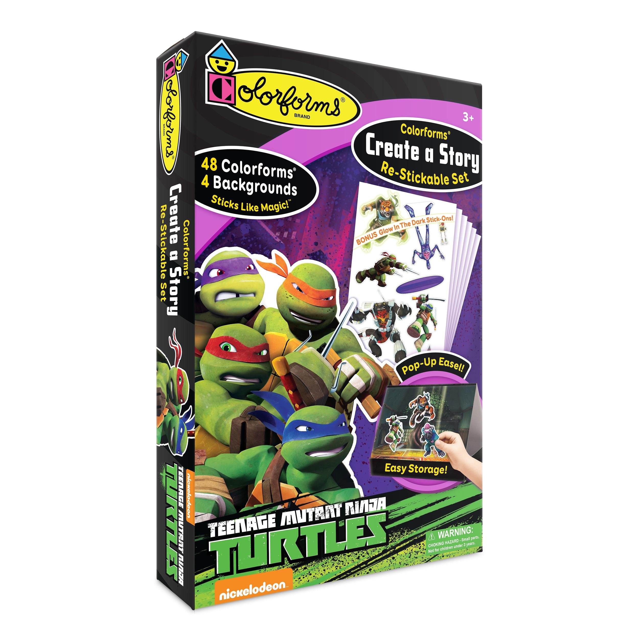 License 2 Play Teenage Mutant Ninja Turtles Colorforms Cr...