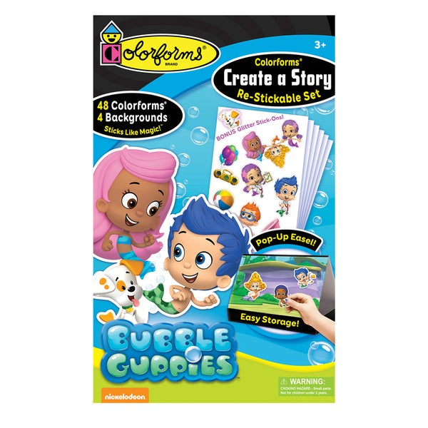 Bubble Guppies Colorforms Create A Story