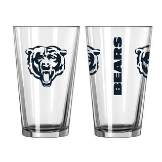Chicago Bears Game Day Pint Glass 2-Pack