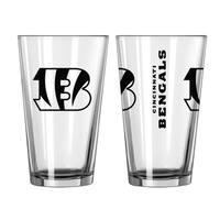 Cincinnati Bengals Game Day Pint Glass 2-Pack