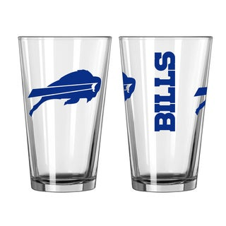 Buffalo Bills Game Day Pint Glass 2-Pack