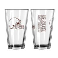 Cleveland Browns Game Day Pint Glass 2-Pack