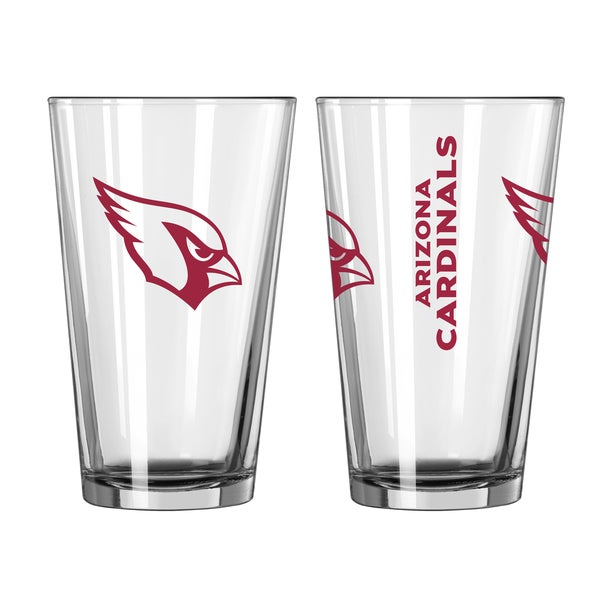 Arizona Cardinals Game Day Pint Glass 2-Pack