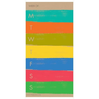 Paint Strokes 70-page Magnetic Pad