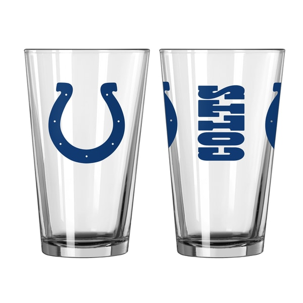 Indianapolis Colts Game Day Pint Glass 2-Pack