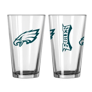 Philadelphia Eagles Game Day Pint Glass 2-Pack