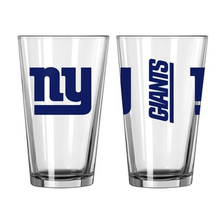 New York Giants Game Day Pint Glass 2-Pack