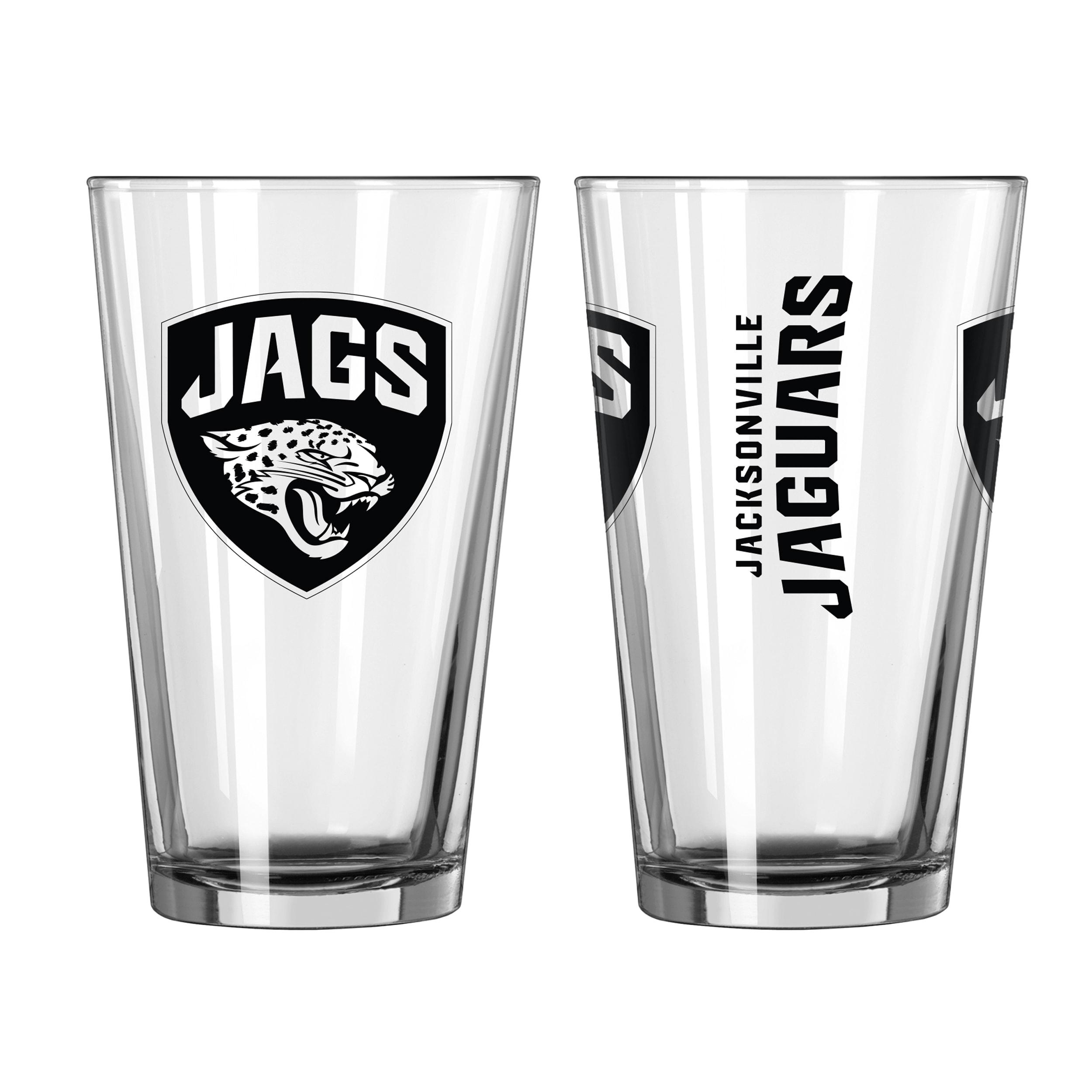 Fan Apparel & Souvenirs Pint Glass Jacksonville Jaguars 16 oz