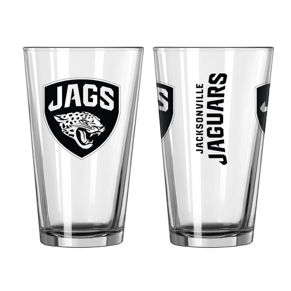 Jacksonville Jaguars Game Day Pint Glass 2-Pack