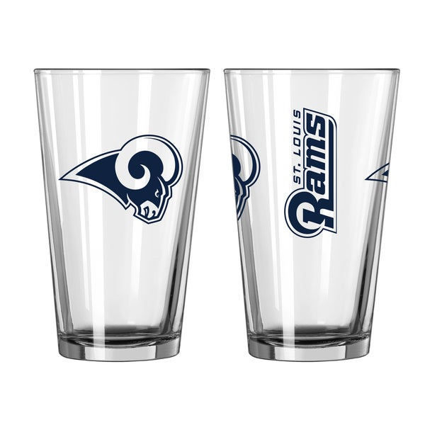 St. Louis Rams Game Day Pint Glass 2-Pack