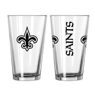 New Orleans Saints Game Day Pint Glass 2-Pack