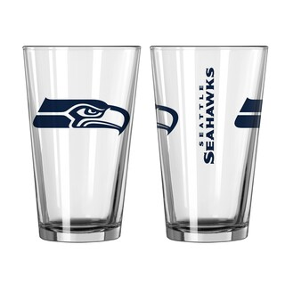 Seattle Seahawks Game Day Pint Glass 2-Pack