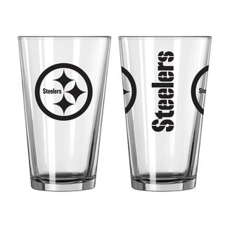 Pittsburgh Steelers Game Day Pint Glass 2-Pack