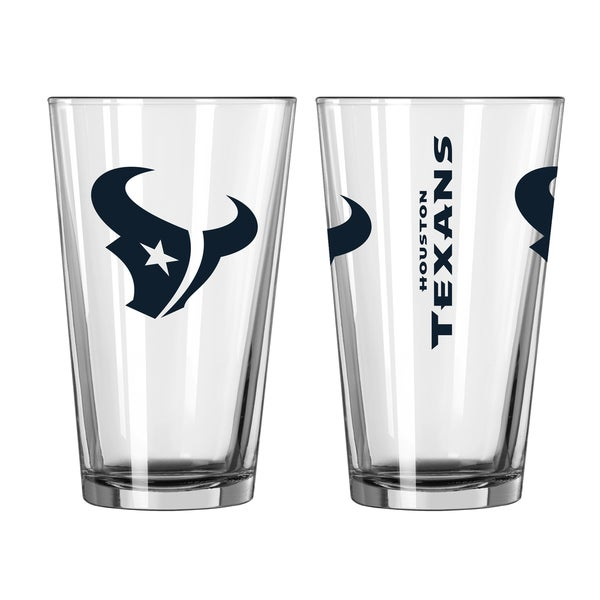 Houston Texans Game Day Pint Glass 2-Pack