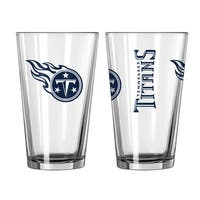 Tennessee Titans Game Day Pint Glass 2-Pack