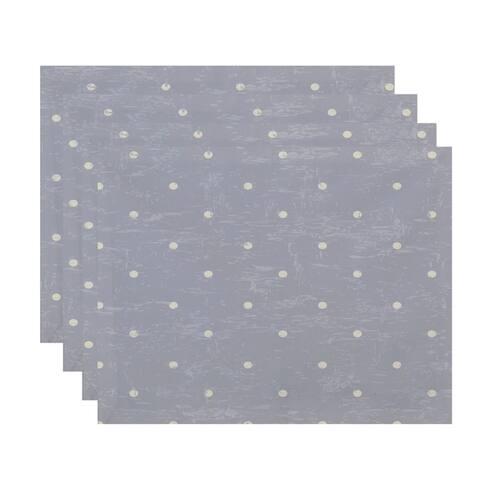 Dorothy Dot Geometric Print Placemats (Set of 4)