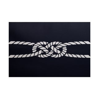 Carrick Bend Geometric Print Rug (2' x 3')