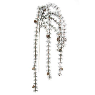Fleur Collection 65-inch Frosted Hanging Pine Stem (Pack of 2)