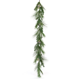Classic Christmas Collection 72-inch Pine with Jingle Bells Garland (Pack of 2)