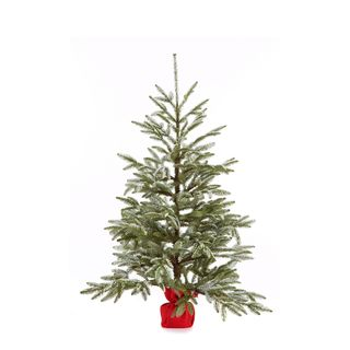 Cherry Hill Lane 48-inch Frasier Fur Tree with Snow (Pack of 1)