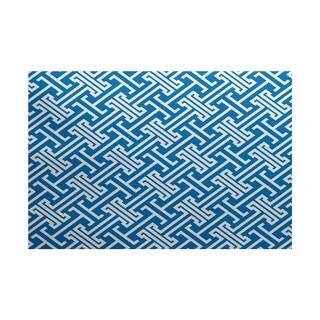 Leeward Key Geometric Print Rug (2' x 3')