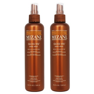 Mizani Gloss Veil Shine 8.5-ounce Spray (Pack of 2)