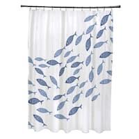 Escuela Animal Print Shower Curtain