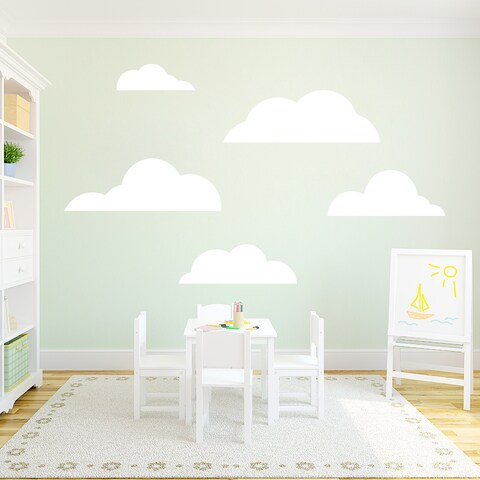 Set of Clouds Wall Decals