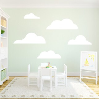 Set of Clouds Wall Decals (More options available)