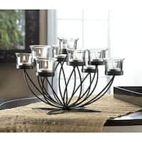 Glowing Iron 9-Candle Centerpiece