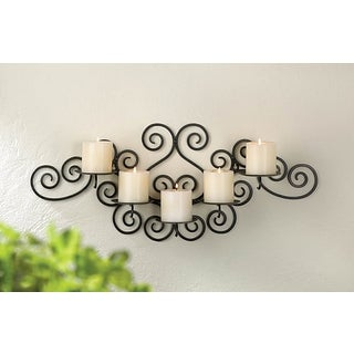 Tansy Scrolling Metal Wall Sconce