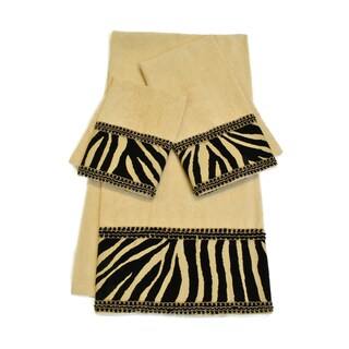 Sherry Kline Zuma Embellished Decorative 3-Piece Towel Set