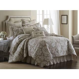 Sherry Kline Florentine Taupe 4-piece Comforter Set (Option: Queen)|https://ak1.ostkcdn.com/images/products/10808878/P17854359.jpg?impolicy=medium