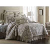 Sherry Kline Florentine Taupe 4-piece Comforter Set