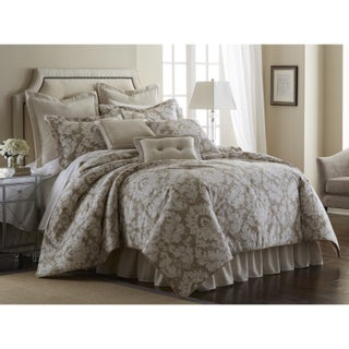 Sherry Kline Florentine Taupe 4-piece Comforter Set (3 options available)