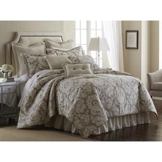 PCHF Florentine Taupe 4-piece Comforter Set