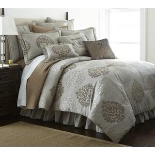 Sherry Kline York Grey 4-piece Comforter Set