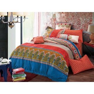 Sherry Kline Moroccan 3-piece Reversible Print Comforter Set