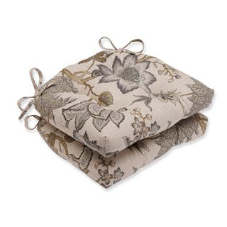 Buy Grey Floral Chair Cushions Pads Online At Overstock Our