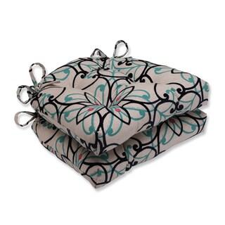 Pillow Perfect Siri Atlantis Reversible Chair Pad (Set of 2)