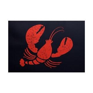 Lobster Animal Print Rug (3' x 5')