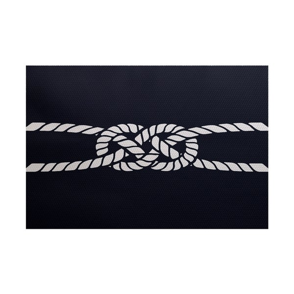 Carrick Bend Geometric Print Rug (3' x 5')