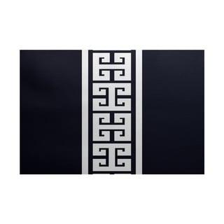 Key Stripe Print Rug (3' x 5')