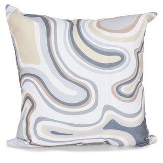 Agate 20-inch Geometric Print Pillow