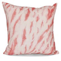 Shibori Stripe Geometric Print 20-inch Pillow