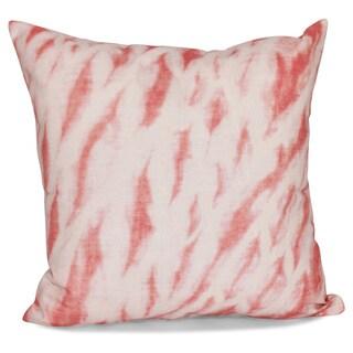 Shibori Stripe Geometric Print 26-inch Pillow