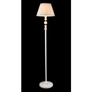 Theodosia 1-light White Victorian 62-inch Floor Lamp
