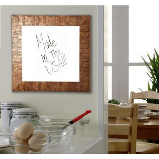 American Made Rayne Safari Bronze Dry Erase Board